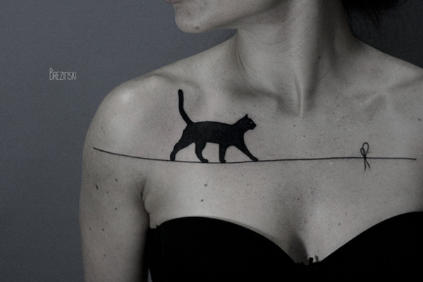 Cat Tattoo Photo #1
