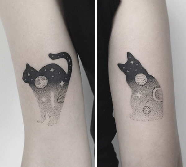 Cat Tattoo Photo #2